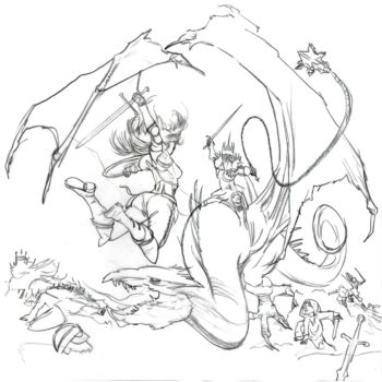 Ruff Sketch